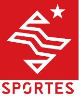 Sportes logo rood