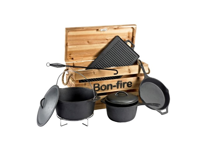 Bon Fire Støbejern I Kasse (Medium) (Small)